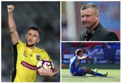 Roy O'Donovan Central Coast Mariners Mark Jones Aleksandr Kokko Newcastle Jets A-League