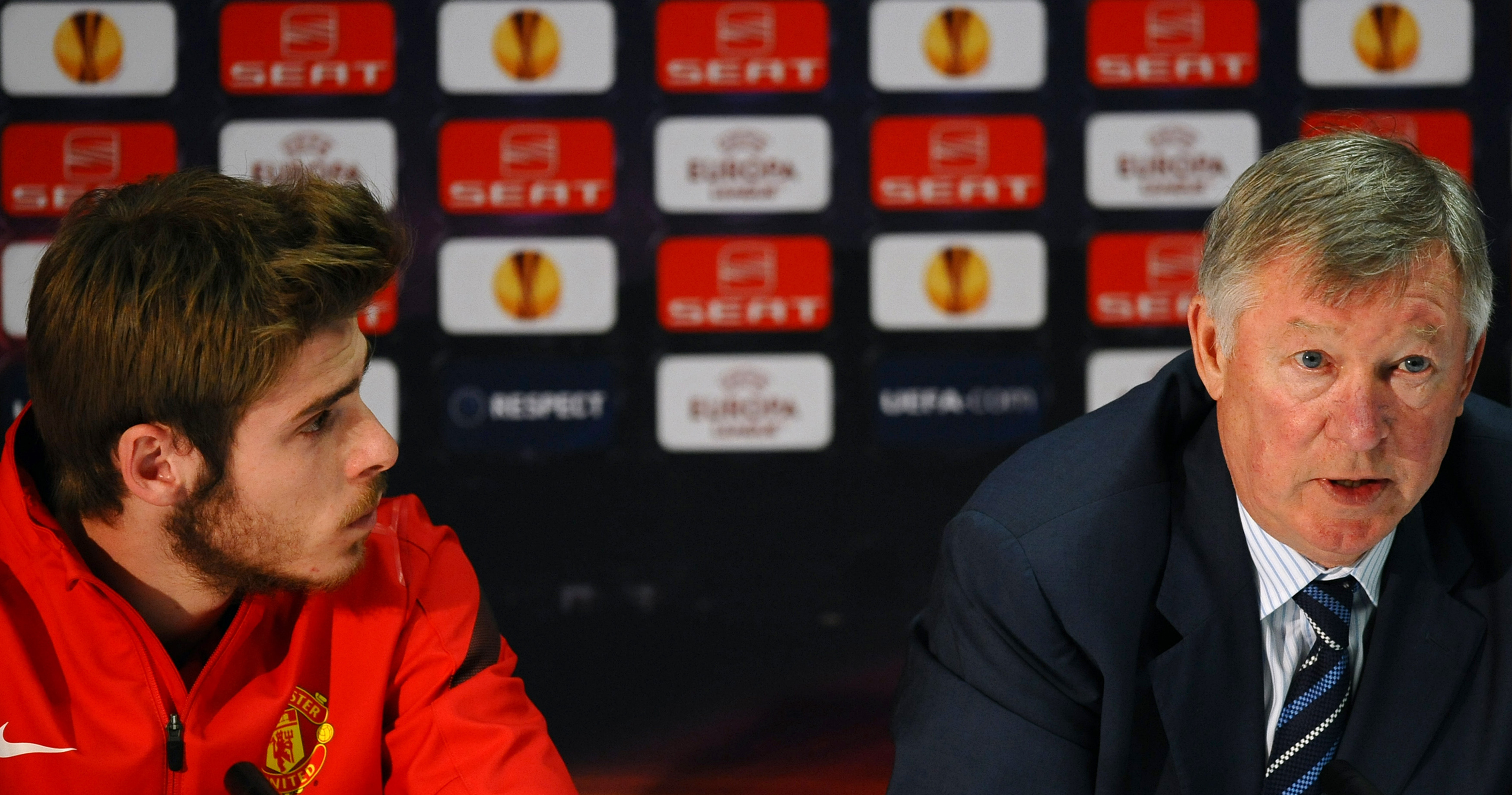 Sir Alex Ferguson, David de Gea, Manchester United