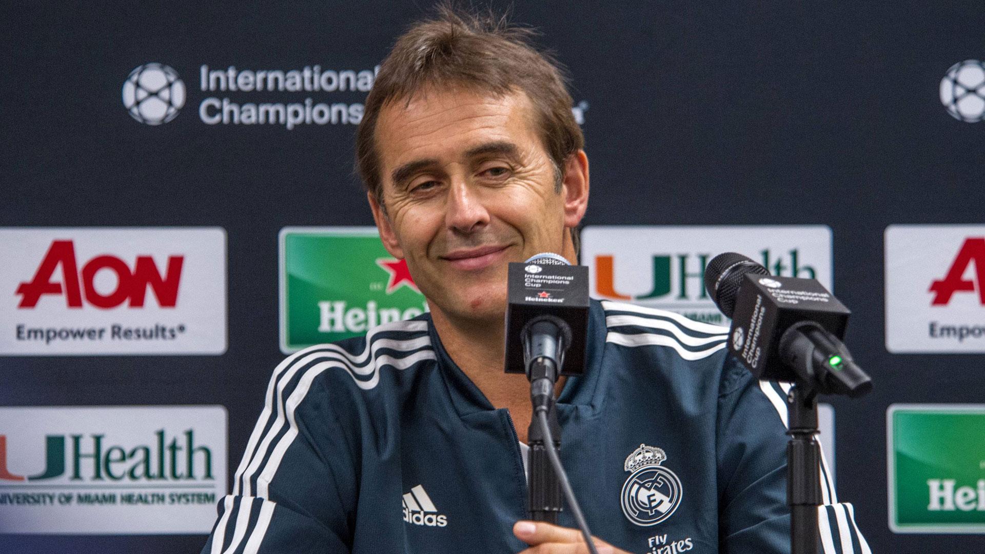 GER ONLY Julen Lopetegui Real Madrid