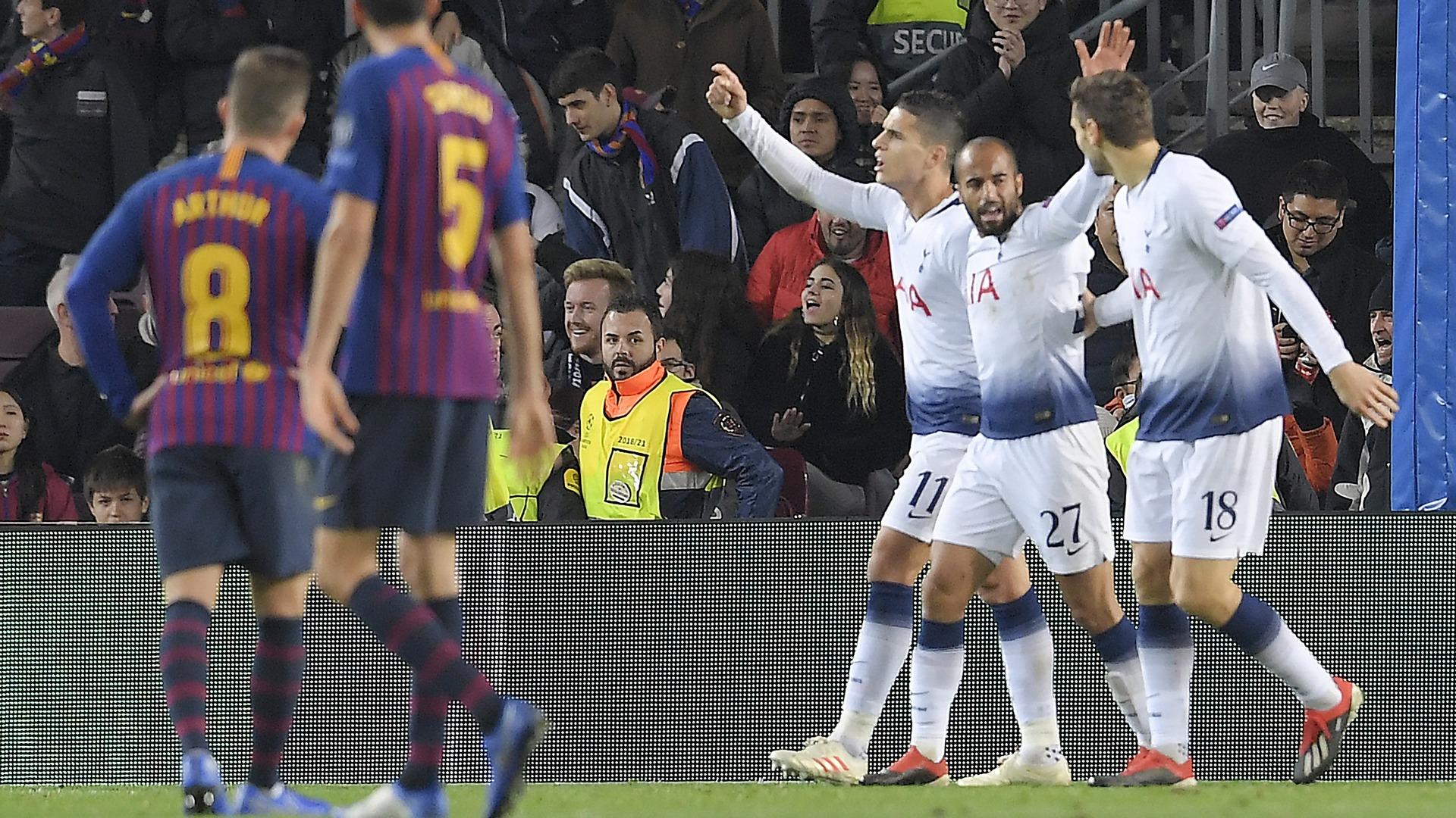 Barcelona Tottenham UCL 12112018