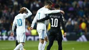 CRISTIANO RONALDO NEYMAR Real Madrid PSG Champions League