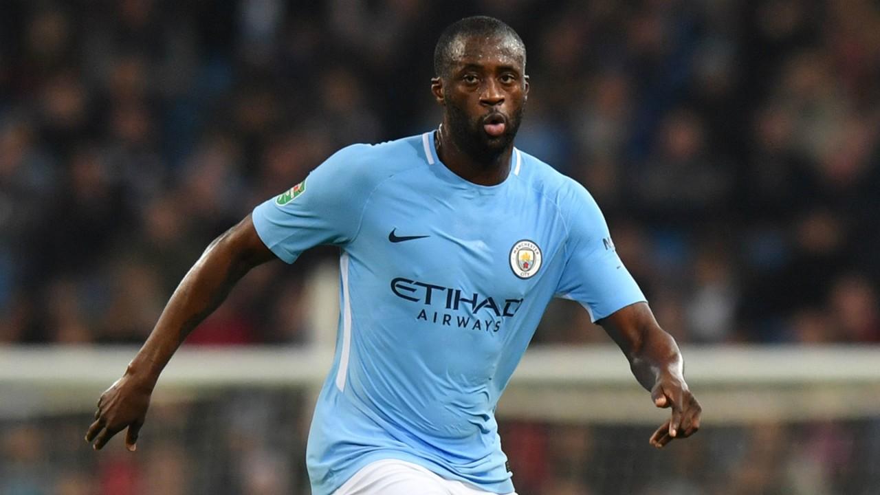 Yaya Toure Manchester City Wolves