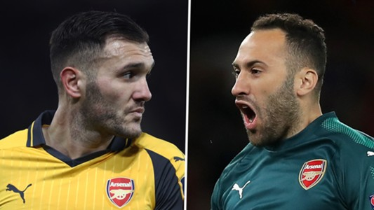 Lucas Perez David Ospina Arsenal
