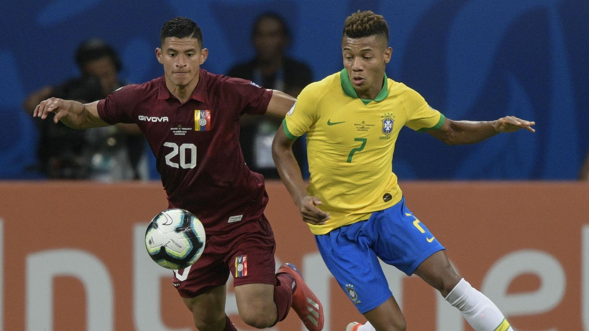 Ronald Hernandez David Neres Brazi Venezuela Copa America 2019