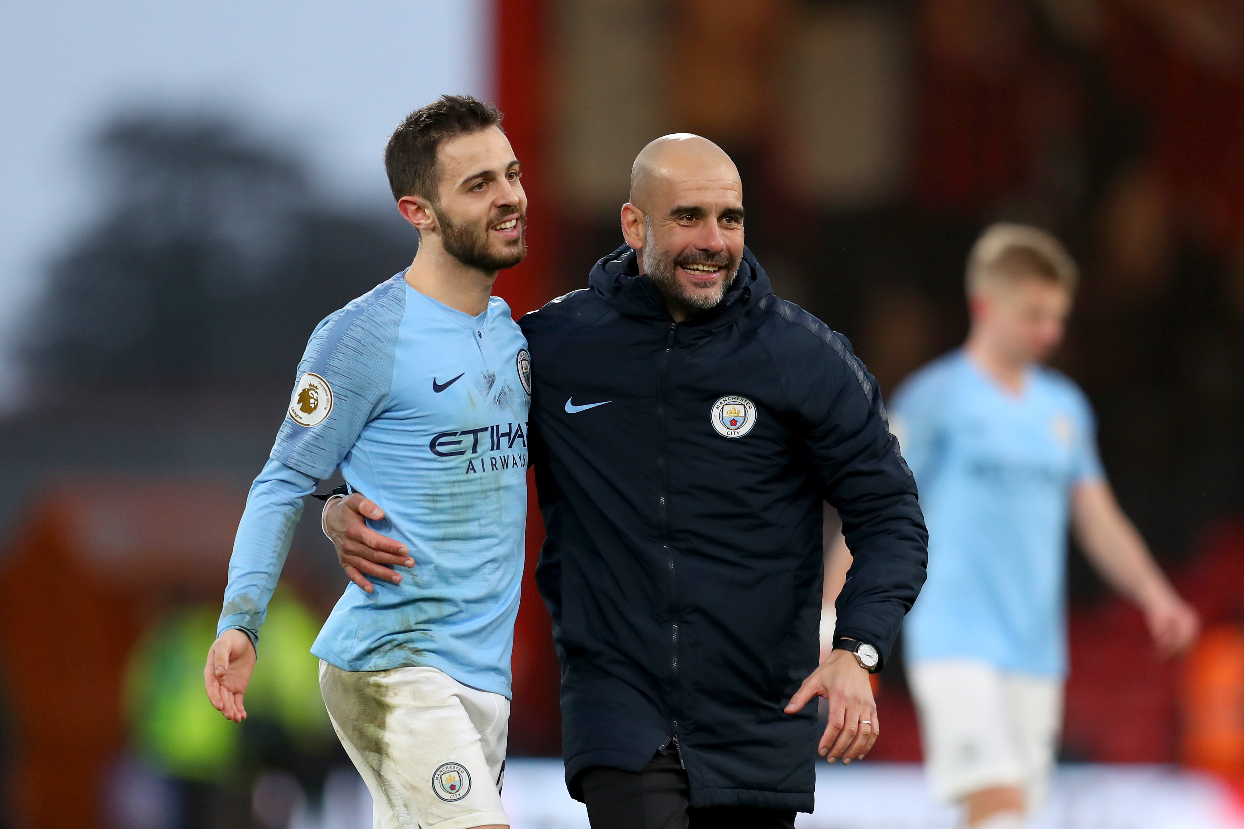 Bernardo Silva Pep Guardiola Manchester City Bournemouth