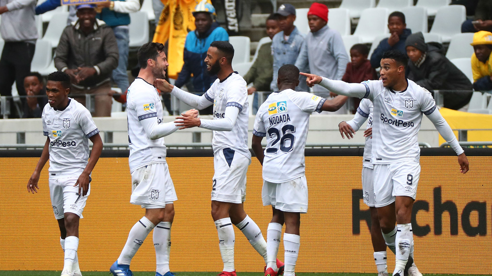 Cape Town City players August 2018
