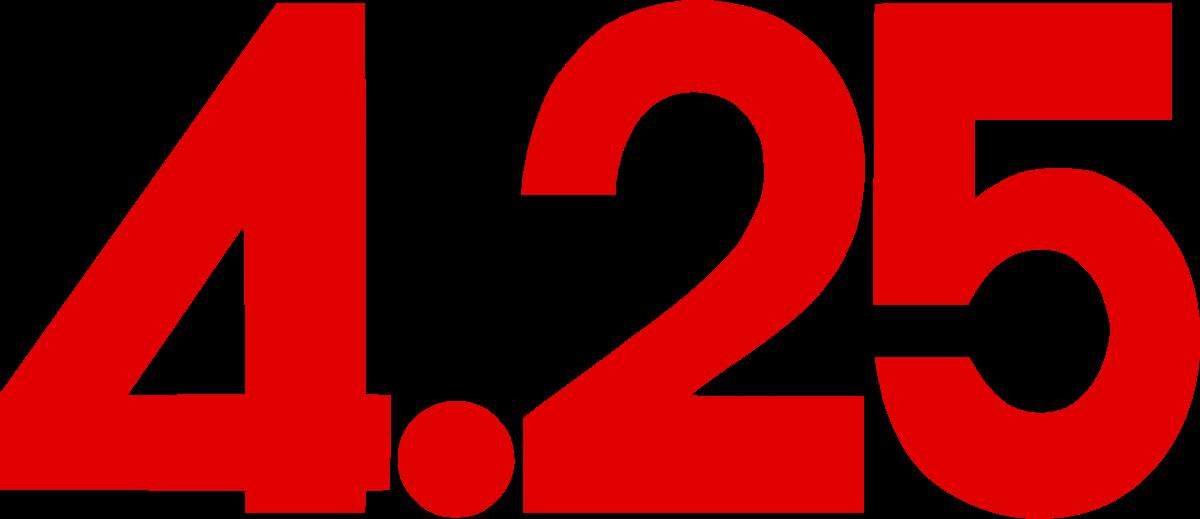 April 25 4.25 SC Logo