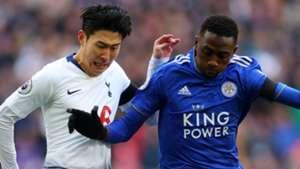 Heung-min Son Tottenham Wilfred Ndidi