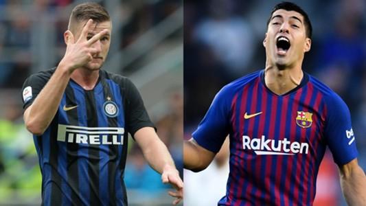 Skriniar Suarez Inter Barcelona