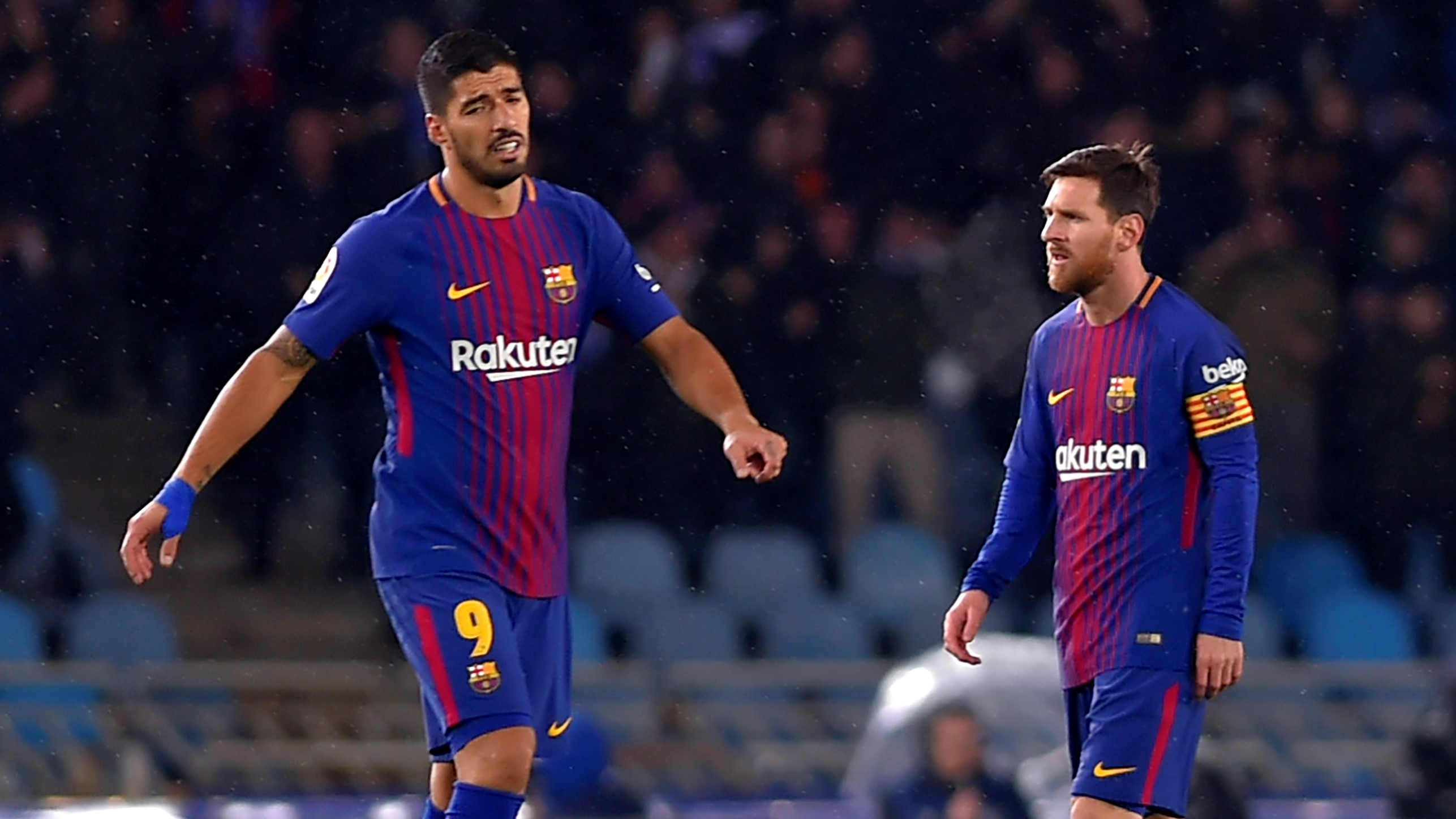 Yerry Mina hizo su presentación oficial como jugador del Barcelona