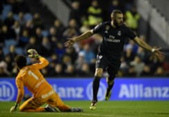 BENZEMA CELTA REAL MADRID LALIGA