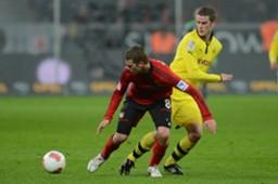 Lars Bender & Sven Bender - Bayer 04 Leverkusen v Borussia Dortmund