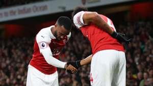 Alexandre Lacazette, Pierre-Emerick Aubameyang, Arsenal