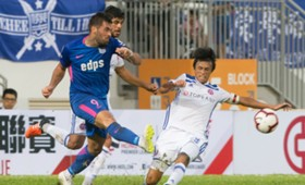 Hong Kong Premier league, Eastern 1:1 Kitchee.