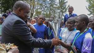 Lugari Teams in Chapa Dimba.