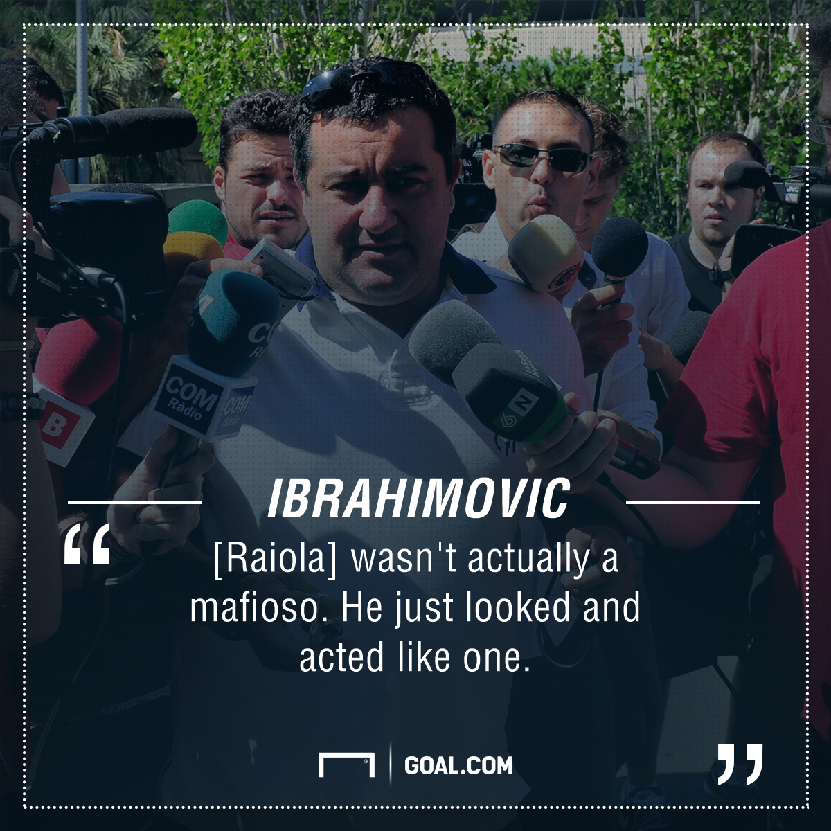 Zlatan Ibrahimovic Mino Raiola PS