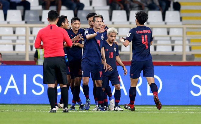 Chanathip Songkrasin Thai Land Asian Cup 2019