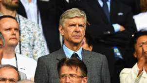 Wenger in the stands
