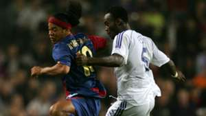 Michael Essien, Ronaldinho
