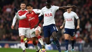 Alexis Sanchez Arsenal Tottenham 111817