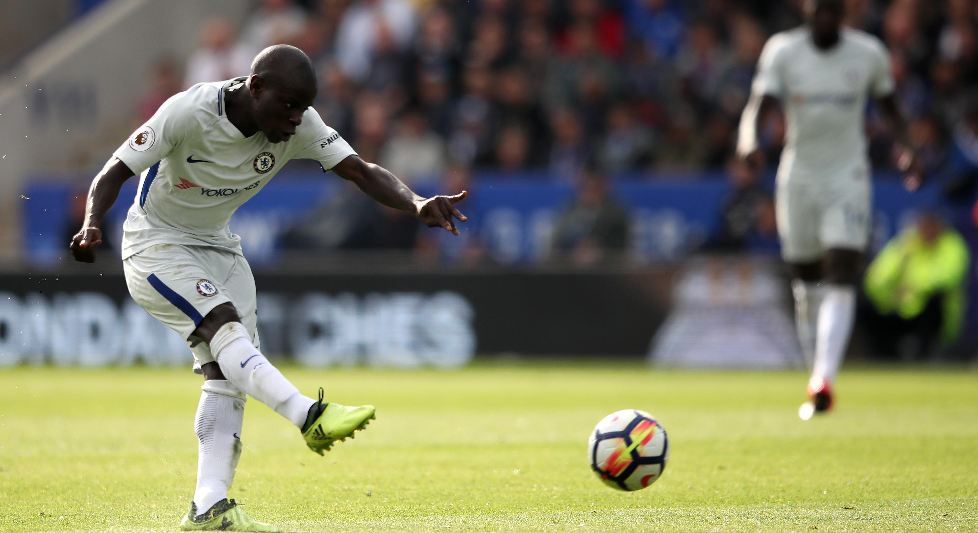 N'golo Kante Chelsea Leicester City