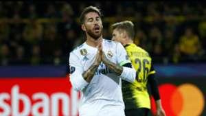 Sergio Ramos Borussia Dortmund Real Madrid UCL 26092017