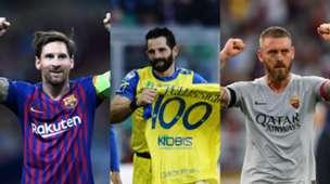 Collage Messi Pellissier De Rossi