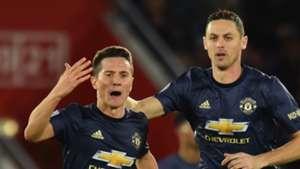Ander Herrera Nemanja Matic Manchester United 01122018