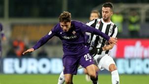 Federico Chiesa Miralem Pjanic Fiorentina Juventus Serie A 02092018
