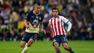 América Chivas Mateus Uribe Orbelin Pineda