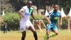 Mathare United v KCB friendly.