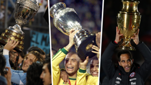 Split Copa America winners