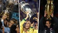 Split Copa America winners