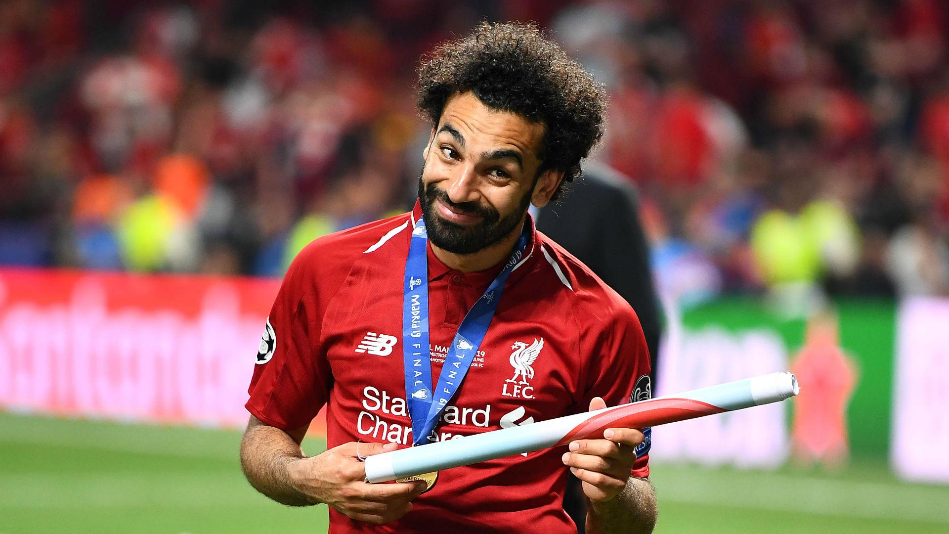 Mohamed Salah Liverpool Tottenham Champions League final 2019