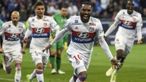 Alexandre Lacazette Lyon Nice Ligue 1 20052017