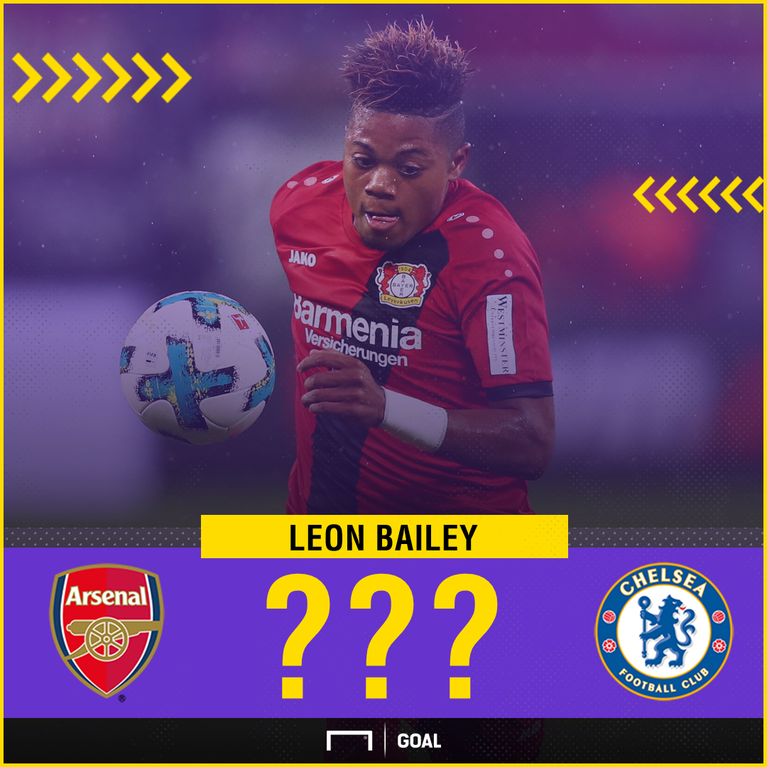 Leon Bailey transfer Arsenal Chelsea