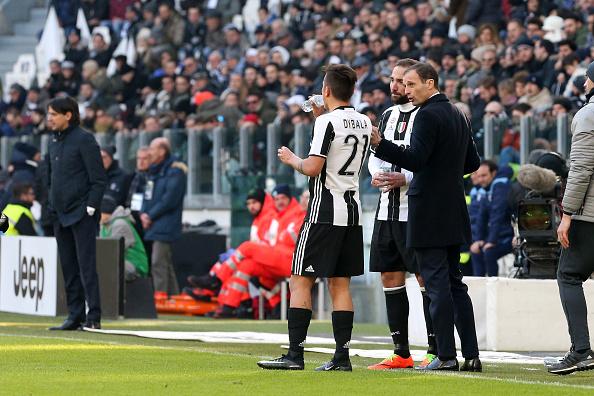 Allegri Dybala Higuain (Juventus)