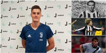 Schick 4° ceco della storia della Juventus