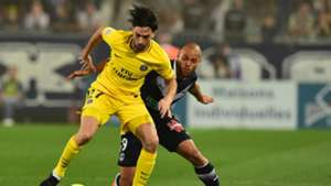 Javier Pastore Martin Braithwaite Bordeaux PSG Ligue 1 22042018