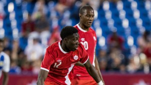 Alphonso Davies Patrice Bernier Canada