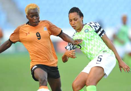 GALLERY: Super Falcons hammer Zambia in Cape Coast