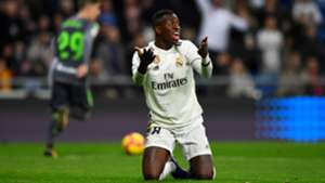 Vinicius Real Madrid Real Sociedad LaLiga 06012019