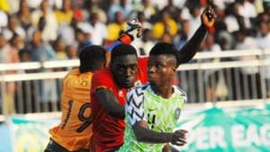 Mikel Agu - Nigeria vs. Uganda