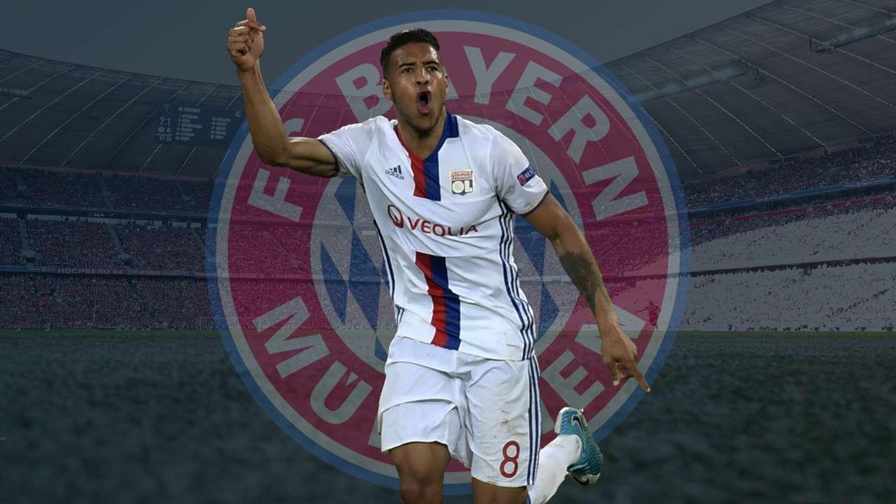 Corentin Tolisso FC Bayern Olympique Lyon GFX