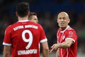 *NO GAL* Arjen Robben Robert Lewandowski FC Bayern