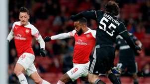 Lacazette Arsenal Europa League