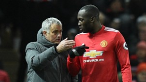Jose Mourinho Romelu Lukaku Manchester United