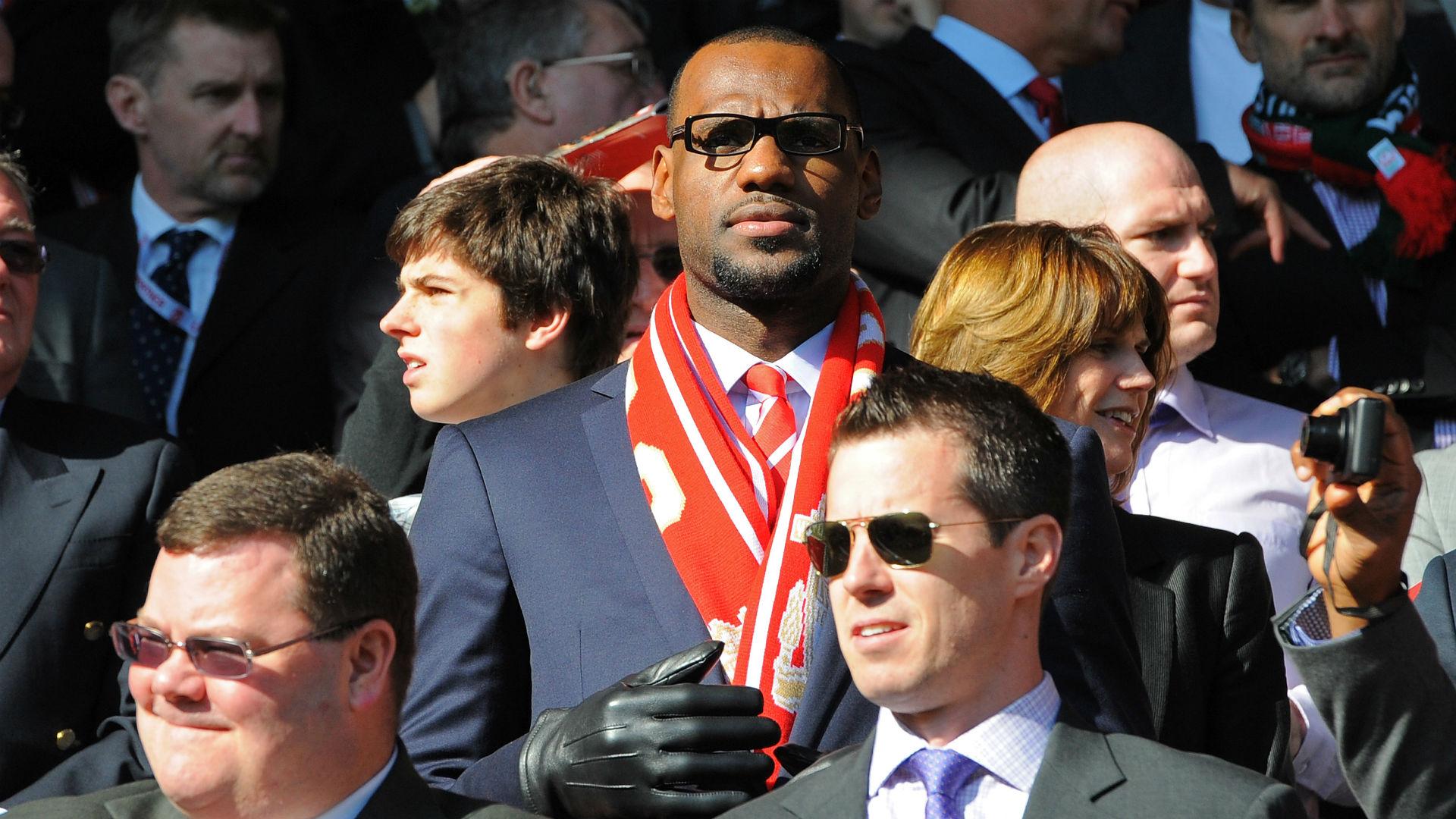 LeBron James Liverpool 2011