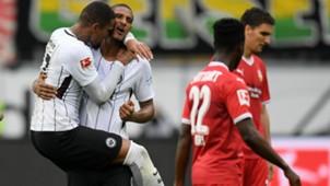 Sebastien Haller, Eintracht Frankfurt, Bundesliga 09302017