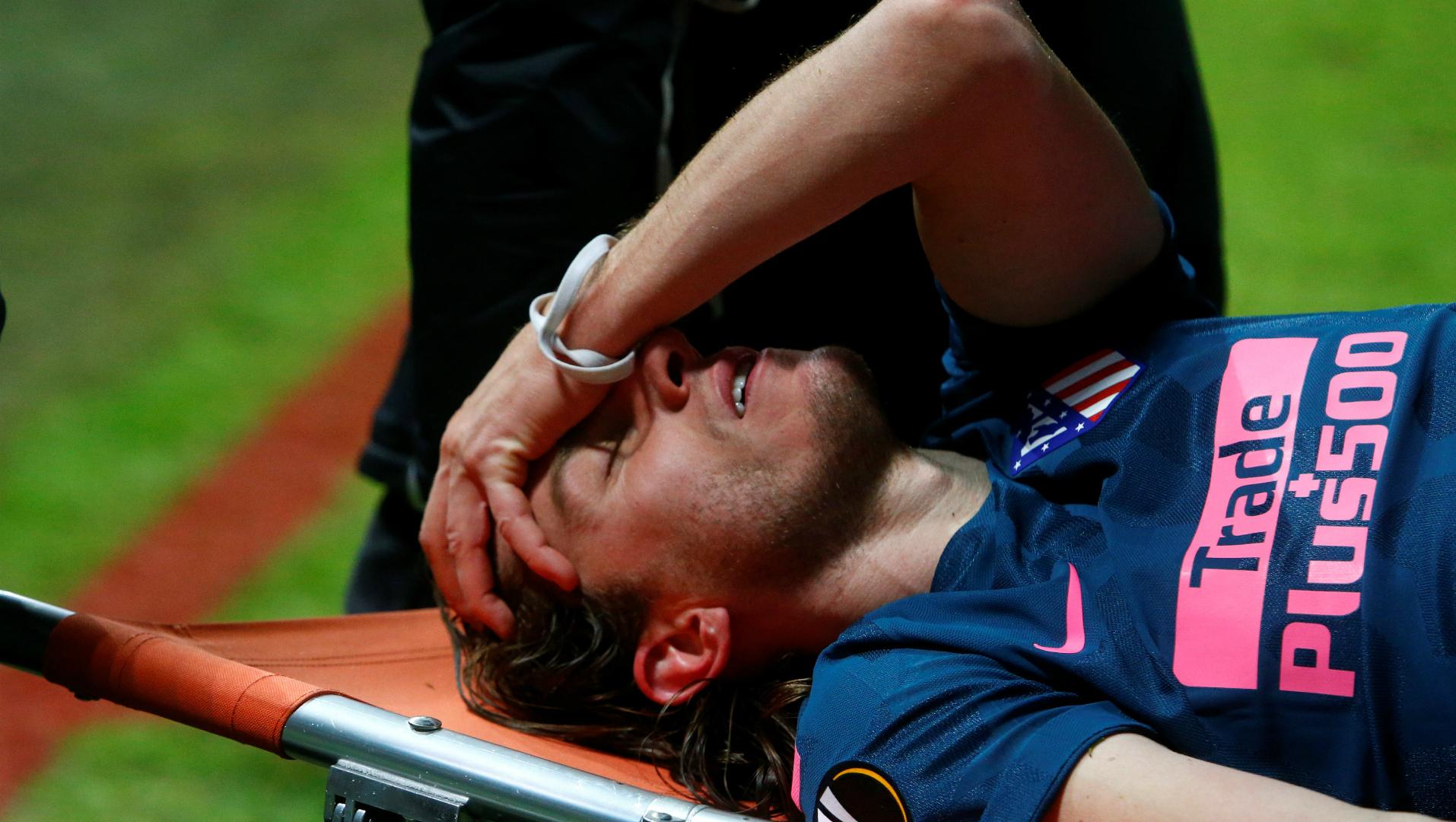 Filipe Luis, Atletico Madrid, Europa League 03152018